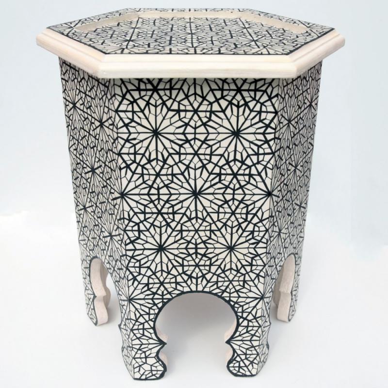 marocain arabique plateau th oriental table d 39 appoint On orientalisches tischchen