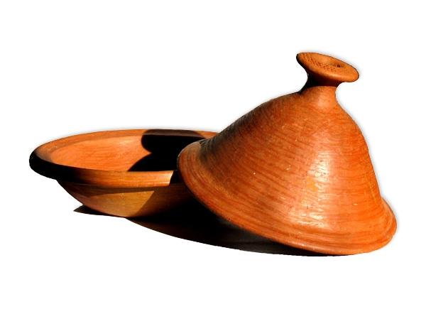 Marokkanische Tajine Tagine Tontopf zum Kochen Mittele Grosse für 6 Personen.